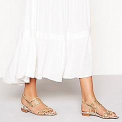 Faith - Silver glitter 'Jada' sandals
