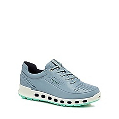 ECCO - Light blue leather 'Cool 2.0' trainers