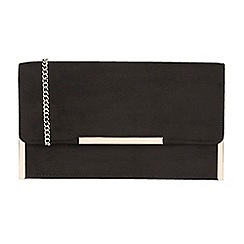 Lotus - Black 'Flamina' clutch bag
