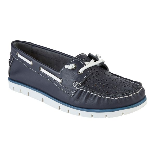 'Lazer' leather 'Lazer' Lotus leather Lotus loafers loafers leather Navy Lotus Navy 'Lazer' loafers Navy AEnqxdA