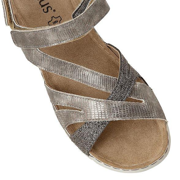 Gold 'Sangallo' Lotus toe sandals peep Z0nqg6n