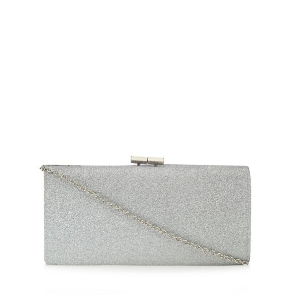 glitter clutch Lotus 'Vibe' Silver bag px5wxqFCT