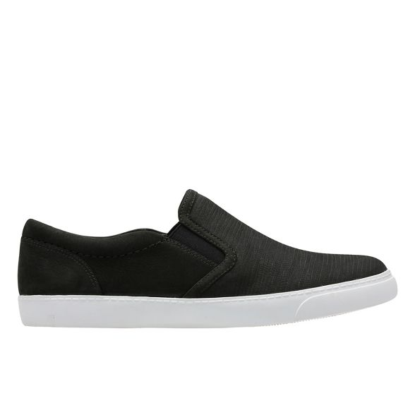 on shoes nubuck slip 'Glove Puppet' Black Clarks U1FwZZ