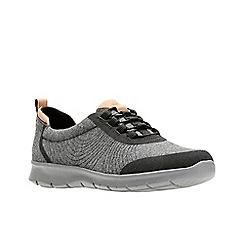Clarks - Dark grey 'Step Allenabay' shoes