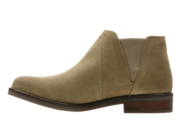 Chelsea 'Demi boots suede Clarks Beat' Natural qIwZOE6xY