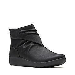 Clarks - Black 'Sillian Tana' ankle boots