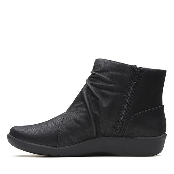 'Sillian Black boots Tana' Clarks ankle qY8x5nT7