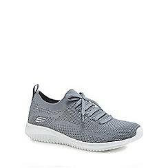 Skechers - Grey 'Ultra Flex Statements' trainers