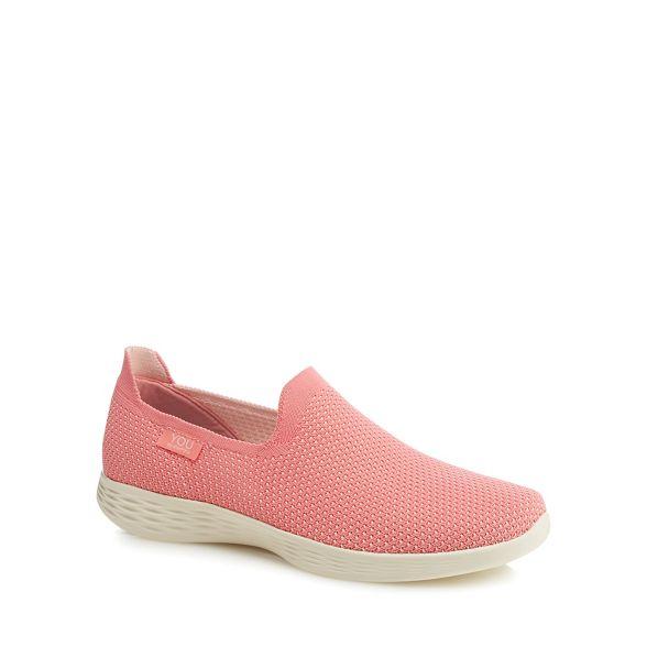 trainers knit Walk Skechers Define' Pink 'You on slip T5wtq0w