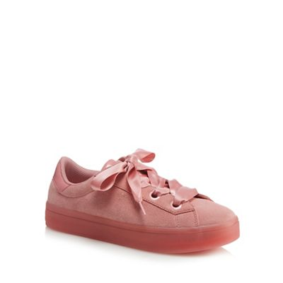 2d41be2de6eb Skechers Pink suede  Hi-Lites Suede City  trainers