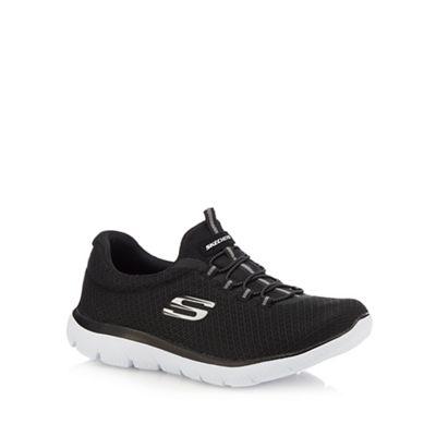 Skechers - Black 'Summits' 'Summits' 'Summits' slip-on trainers 950387