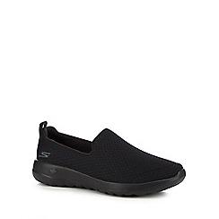 Skechers - Black 'Go Walk Joy Rejoice' slip-on trainers