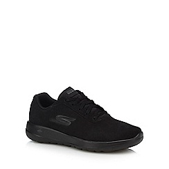 Skechers - Black suede 'Go Walk Joy' trainers