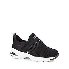 Skechers - Black 'D'Lite Ultra' slip-on trainers