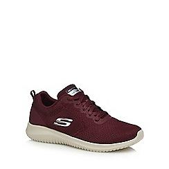 Skechers - Dark red 'Free Spirit' trainers