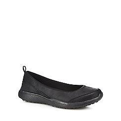 Skechers - Black 'Microburst Lightness' slip-on shoes