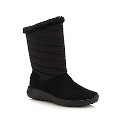 Skechers - Black 'On The Go Joy' calf boots