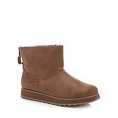 Skechers - Taupe 'Keepsake 2.0' boots