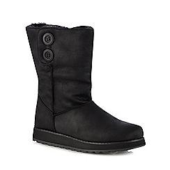 Skechers - Black 'Keepsakes 2.0' wedge heel ankle boots