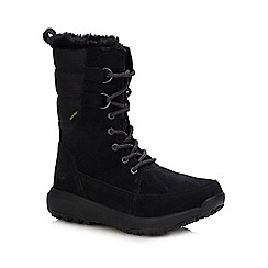 Skechers - Black Suede 'Outdoors' Boots