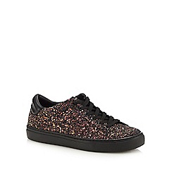 Skechers - Black glitter 'Awesome Sauce' trainers