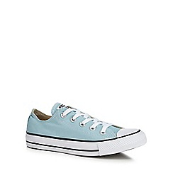 Converse - Light blue canvas 'Chuck Taylor All Star' trainers