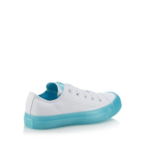 Star' 'Chuck canvas Converse White trainers Taylor All x6XFEqS