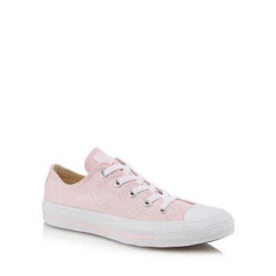 Converse - Light pink canvas trainers 'Chuck Taylor All Star' trainers canvas a5eedc