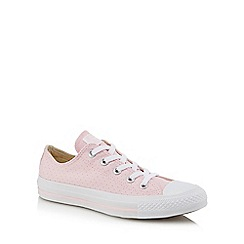 Converse - Light pink canvas 'Chuck Taylor All Star' trainers