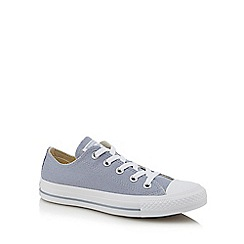 Converse - Light grey canvas 'Chuck Taylor All Star' trainers