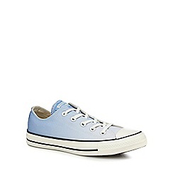 Converse - Light blue ombre canvas 'Chuck Taylor All Star' trainers