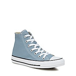 336d982fabee Converse - Light blue canvas  Chuck Taylor All Star  hi-top trainers