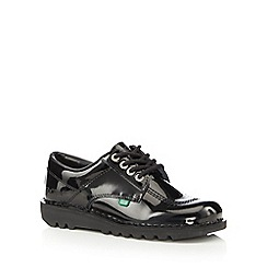 Kickers - Black patent leather 'Classic' shoes