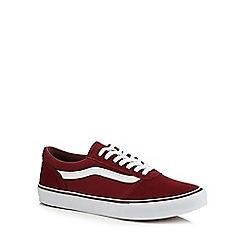 Vans - Red canvas 'Maddie' trainers