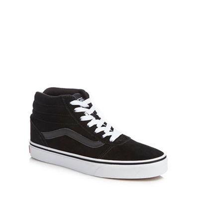 84f1375deb7 Vans - Black suede  Ward  hi-top trainers