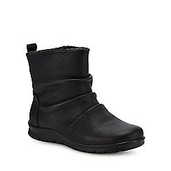 ECCO - Black leather 'Babett' boots