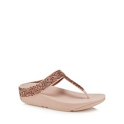 FitFlop - Natural embellished 'Fino Quartz' sandal