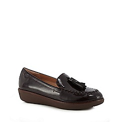 FitFlop - Wine patent 'Paige' loafers