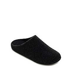 45deaf7e96ef FitFlop - Black  Chrissie  Mule Slippers
