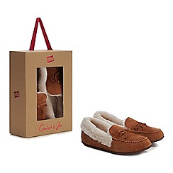 843e8d4dd FitFlop - Tan suede  Clara  moccasin slippers