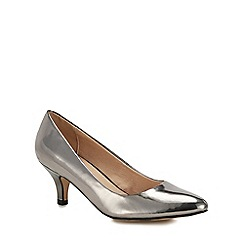 Lotus - Girl's Metallic Almond Toe Stiletto Heel Court Shoes