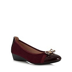 Lotus - Dark red 'Kantor' shoes