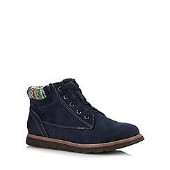 Lotus - Navy 'Sequoia' ankle boots