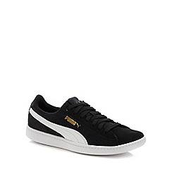 Puma - White suede 'Vikky' trainers