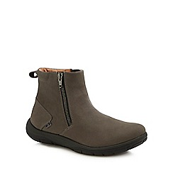 Strive - Dark grey suede 'Bamford' ankle boots