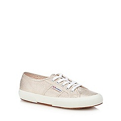 Superga - Rose 'Lamew' lace up trainers