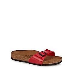 ec63ac51ff5 Birkenstock - Red  Madrid  single strap sandals