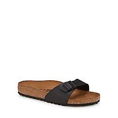 Birkenstock - Black 'Madrid' single strap sandals