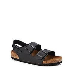 Birkenstock - Black 'Milano' double strap sandals