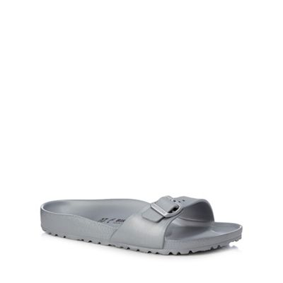 7b8d63f1d5f7 Birkenstock Silver  Madrid Eva  single strap sandals